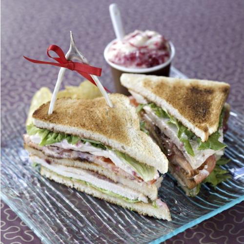 Free Range Christmas Turkey Sandwich