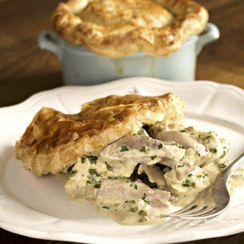 Turkey and Creamy Stilton Pie